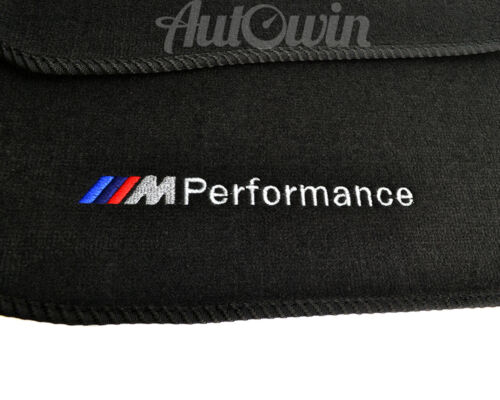 Floor Mats For BMW 6 Series F12 F13 F12LCI With M Performance Emblem LHD Clips