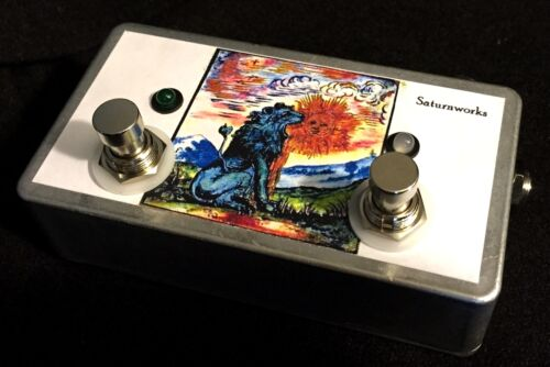 Handcrafted in the USA Saturnworks Active A//B//Y ABY Guitar Switch Buffer Pedal