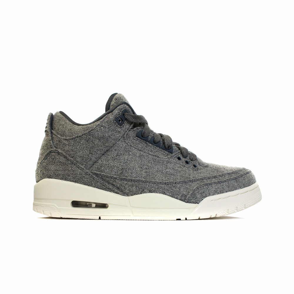 Air Jordan Retro iii 3  Wool  shoes GS Kids 861427-004 & Men's 854263-004