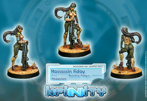 Infinity BNIB Haqqislam - Hassassin Fidays (Female with Boarding Shotgun)