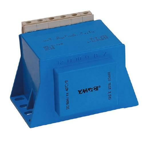 YHDC Transformador de aislamiento LKB6637-T-60VA  Primaria:220V Secundaria:24V