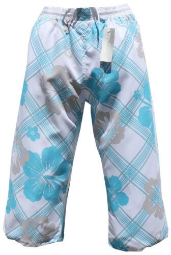 Cargo badeshorts bermudas señores señora bañador blanco azul en S M L XL XXL XXXL