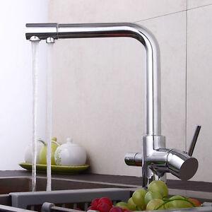 Einhebel Wasserhahn Küche Mischbatterie Armatur Spültisch Armatur ...