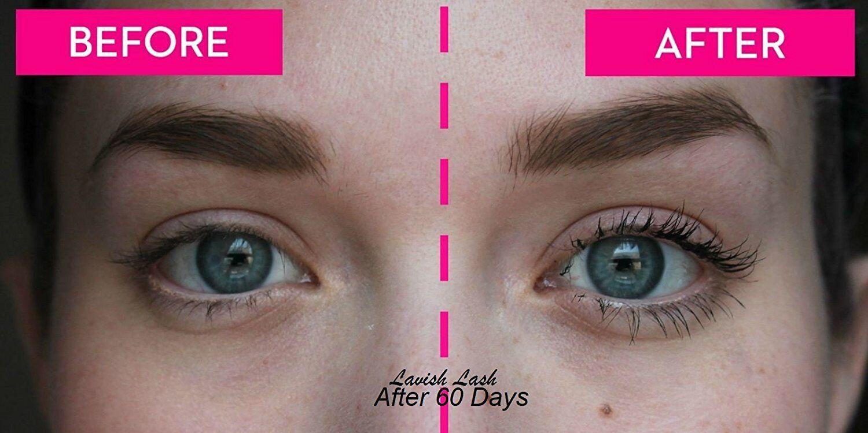 Hairgenics Lavish Lash Eyelash Growth Enhancer Brow Serum For