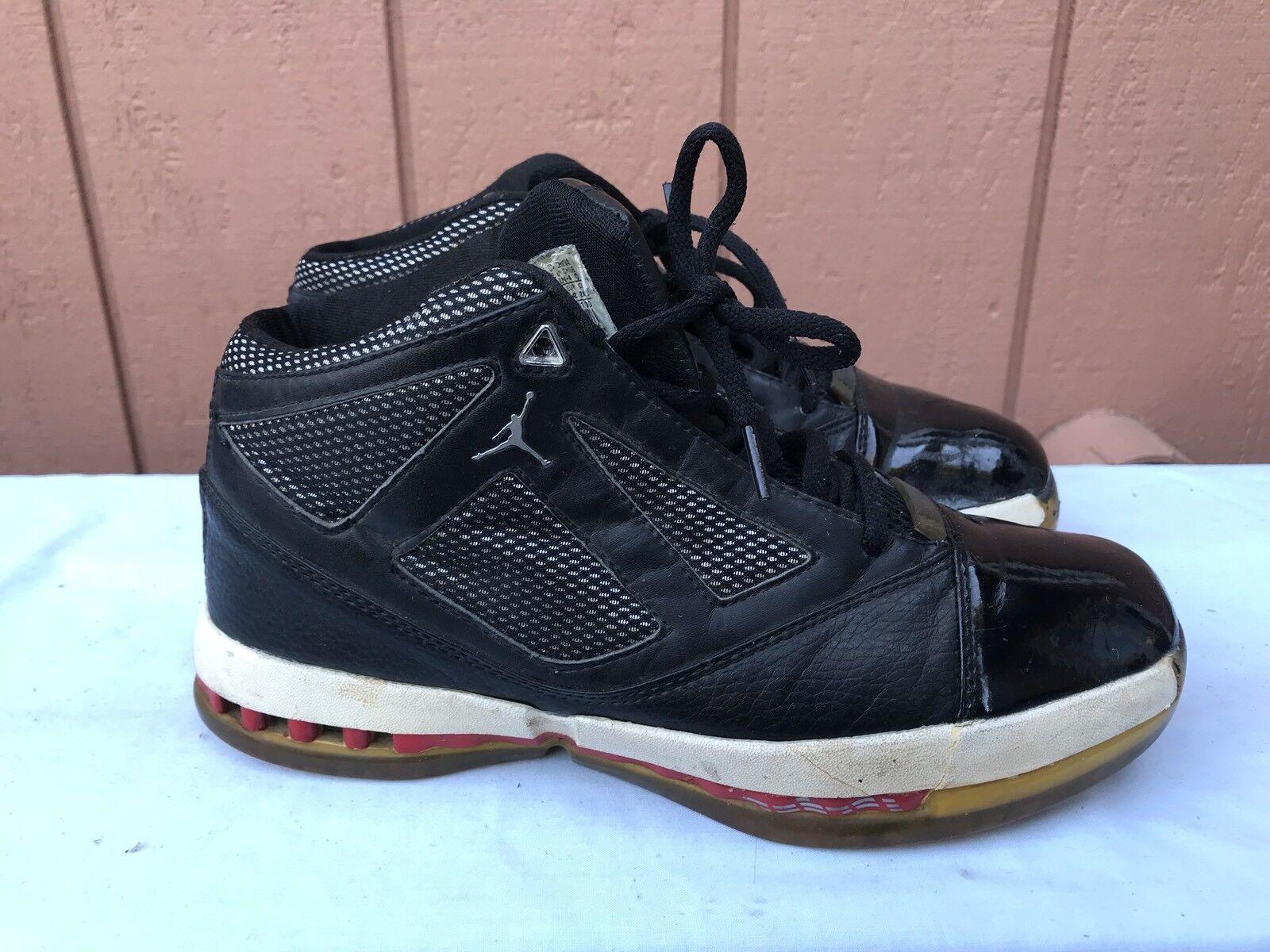 RARE 2018 Nike Air Jordan XVI 16+ OG Basketball Shoes US 8.5 136080 001 A2