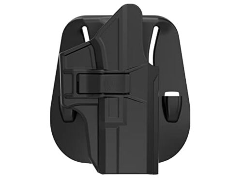 Glock 43 43x Hard Polymer OWB Right Hand Paddle Holster