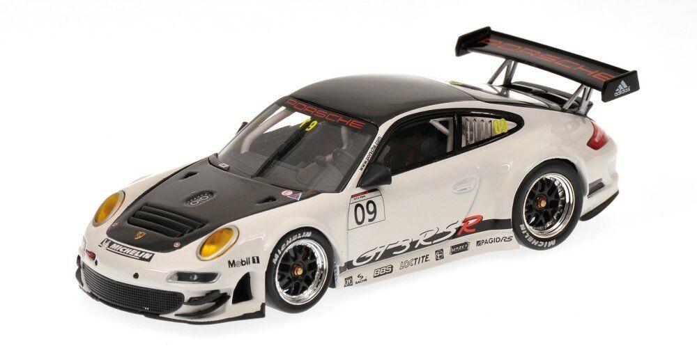 Porsche 911 Gt3 RSR 2009 Promo 1 43 Model 400096909 MINICHAMPS