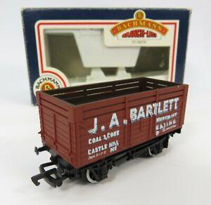 OO-Gauge-Bachmann-33-155-9-Plank-Wagon-J-A-Bartlett-Ealing