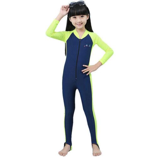 Children Summer Piece Scuba Snorkeling Wetsuit Rash Guard Surfing Surf Clothing