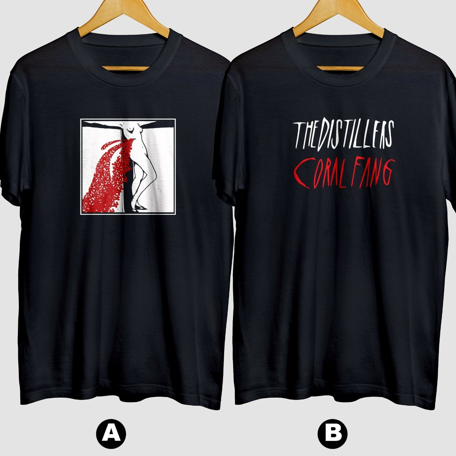 The Distillers Coral Fang Brody Dalle New Cotton T Shirt One Day