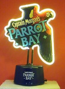 Captain Morgans PARROT BAY 3E Trading, LLC Neon Light sign