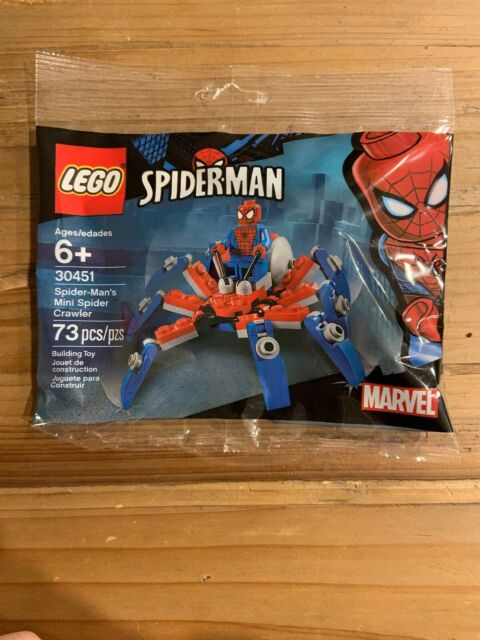 Lego Spiderman 30451 - Spider-Man's Mini Spider Crawler Polybag