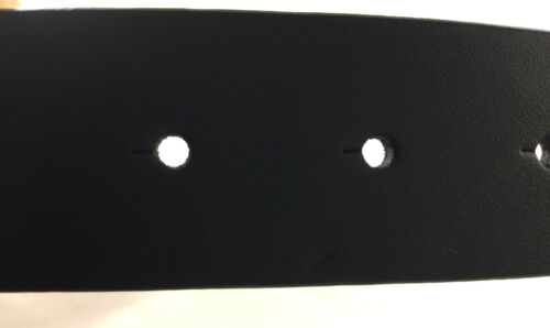 Men/'s Reversible Black Brown Leather Belt