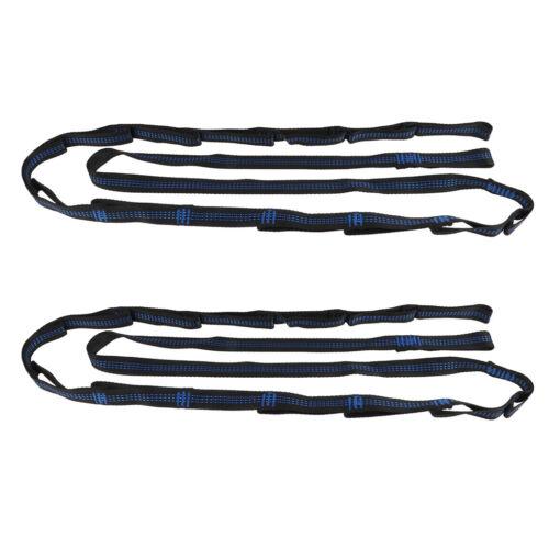 2pcs Hängematte Befestigung Seil Riemen aus Polyester mit