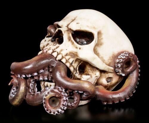 Totenkopf Kraken Schädel Fantasy Gothic Totenschädel Deko