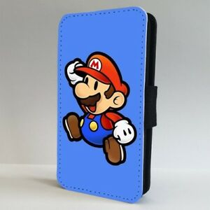 Retro Super Mario Nintendo Game FLIP PHONE CASE COVER for IPHONE SAMSUNG