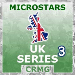 CRMG Corinthian MicroStars UK SERIES 3 (like SoccerStarz)