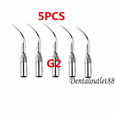 5pcs X G2 Dental Ultrasonic Scaler Tips scaling tips handpiece 2016 NEW