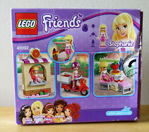 Lego 41092 New In Box Friends Stephanie/'s Pizzeria pizza scooters
