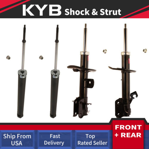 KYB 4X Strut Shock Absorber Front Rear Left+Right Fits JUKE 2011 2012 2013