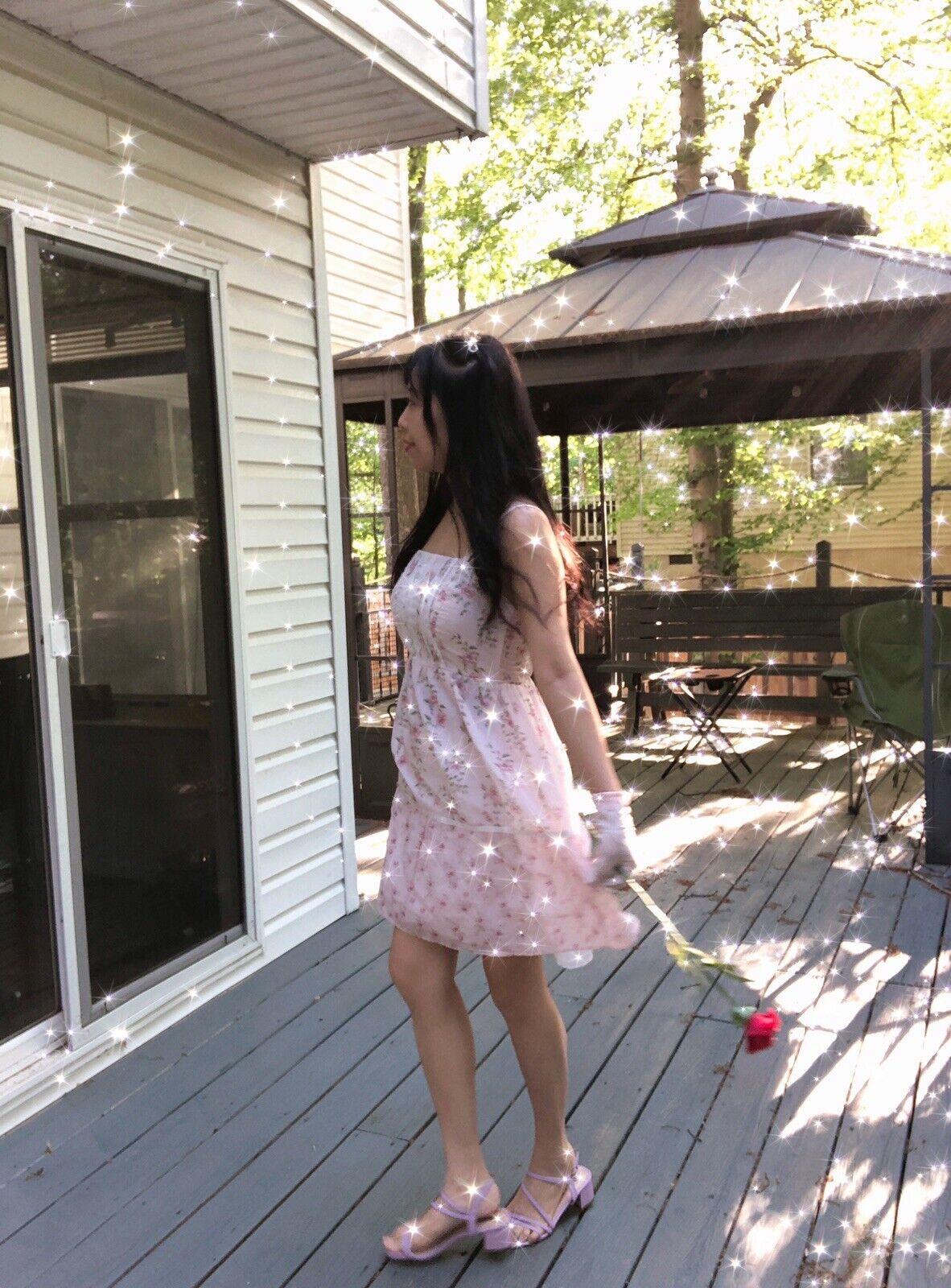 ✨VTG Gunne Sax Pink Style Calico Dress❤️ - image 2