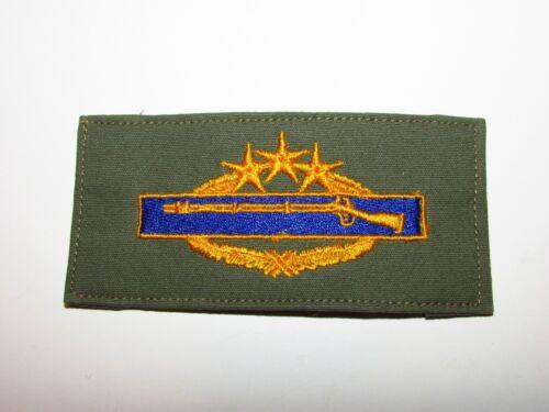 b9459 US Army Vietnam Combat Infantry Badge Prototype gold//blue 8th Award IR13A