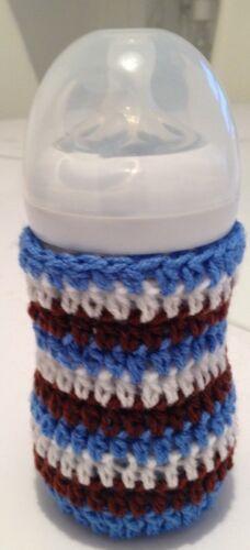 handmade crochet baby bottle cover any brand 5oz tommee tippee