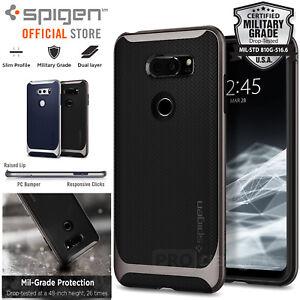 los angeles 21e62 ff0b3 Details about [FREE EXPRESS] LG V30/V30+ Case Spigen Dual Layer Neo Hybrid  Bumper Cover for LG