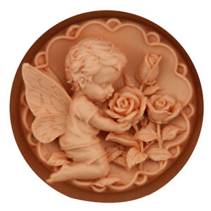 Details about 3D Silicone Baby Angel Soap Molds Fondant Cake Mould Clay  Bakeware Craft Mold