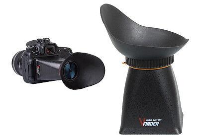 """2.8X Viewfinder 3"""" LCD DSLR Camera for Nikon D5100 D5200 Canon 550D 60D 6D"""