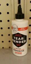 TEAR MENDER Fabric Adhesive 6 oz  Fabric Leather Glue
