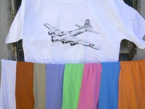 Boeing-B-17-034-Flying-Fortress-034-T-Shirt-17-Colors-FREE-SHIPPING-in-U-S