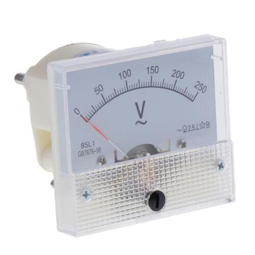 85L1 AC Analog Pointer Voltage Meter-Panel Messgerät Voltmeter Nadel Volt