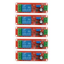 5pcs Dc 12v Delay Relay Shield Ne555 Timer Switch Adjustable Module Tool Kit