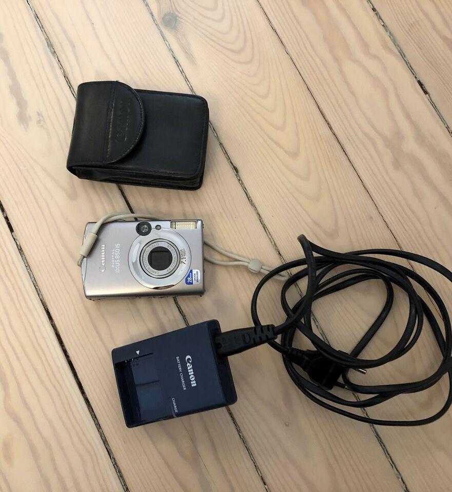 Canon, Ixus 850 is, 7.1 megapixels