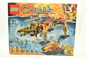 Neu-Lego-Chima-King-Crominus-039-Schutz-70227-Cragger-Laval-Fahrzeug-Eis-Jaeger-Nib