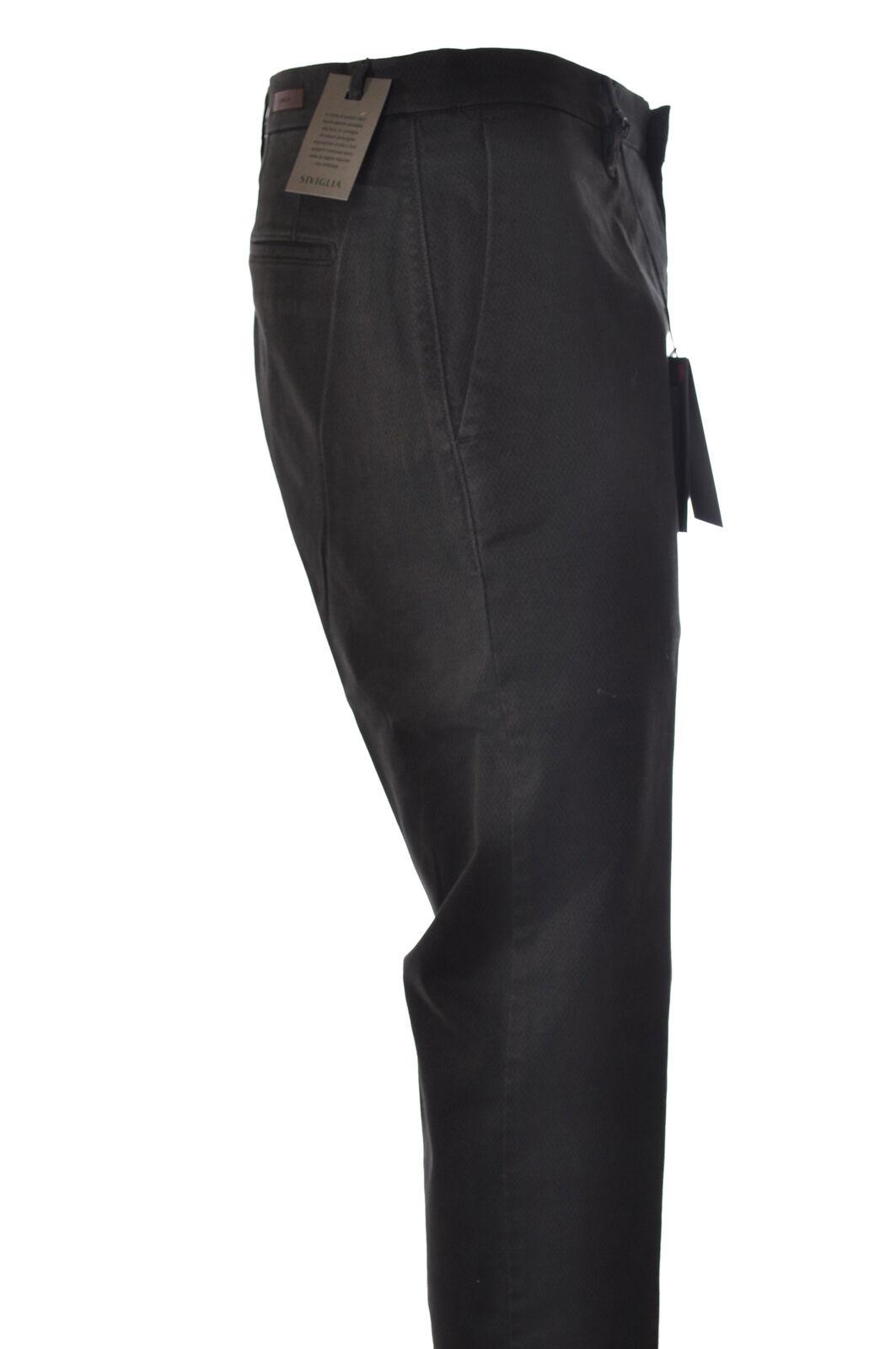 Siviglia - Pants-Pants - Man - Green - 2682706C192802