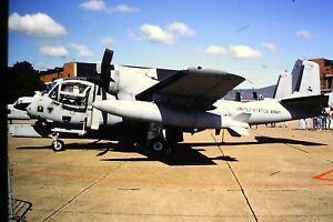 3-744-Grummen-OV-1D-United-States-Army-Kodachrome-Slide