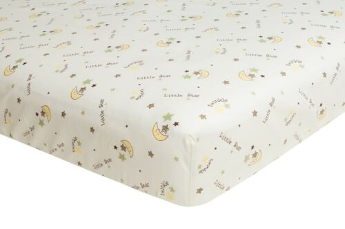 Twinkle Little Star, Fitted Crib Sheet, Frenchie Mini Couture