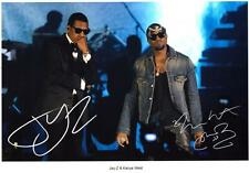 JAY-Z & KANYE WEST AUTOGRAPHED SIGNED A4 PP POSTER PHOTO