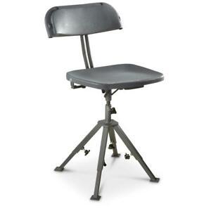 Blind-Hunting-Chair-300-LB-Capacity-360-Swivel-Adjustable-Legs-All-Season-NEW