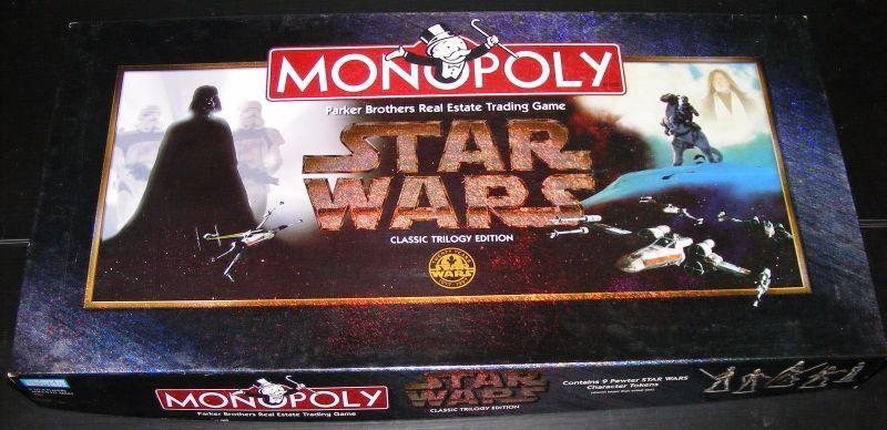 1997  estrella guerras classeic Trilogy edizione Monopoly tavola gioco  Spedizione gratuita per tutti gli ordini