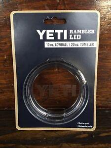 8fa388dd8e4 YETI Rambler Clear Replacement Lid 10 oz Lowball 20 oz Tumbler ...