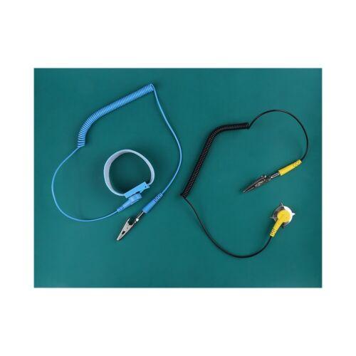Anti-Static Anti Static Wrist Strap Ground Wire Blanket Mat For Phone Repair Kit