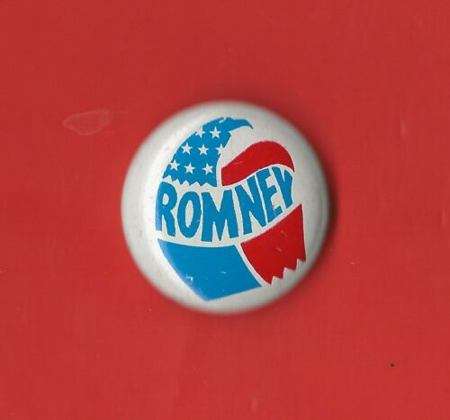 """R xmas Presidential Hopeful Campaign Button 1968 George Romney 1/"""" //"""