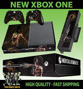 DernièRe Collection De Xbox One Console Autocollant Mileena Mortal Kombat X Tarkatan Mk2 Skin & 2 Pad