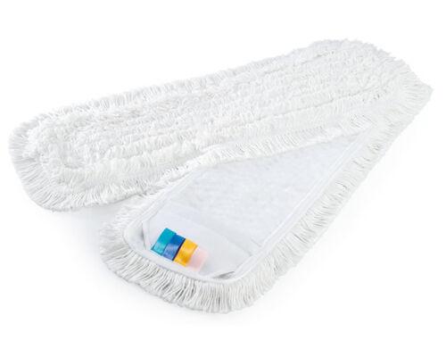 Wischmop Wischbezug  Schlingenmop Mega Weiß MC Blauer Sprinter Borstenmop