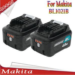 2x battery for makita 10 8v 12v 4 0ah cxt bl1020b bl1021b df331 bl1041b bl1015 ebay. Black Bedroom Furniture Sets. Home Design Ideas