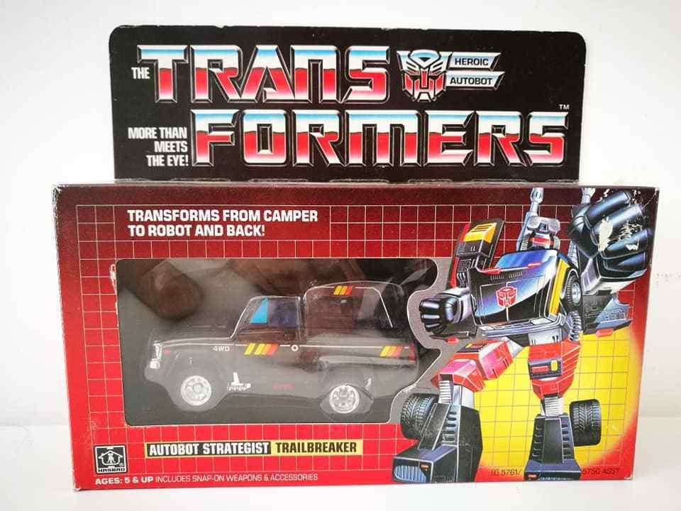 Transformers G1 Autobot Strategist Trailbreaker 1984 Hasbro Made Japan Vintage