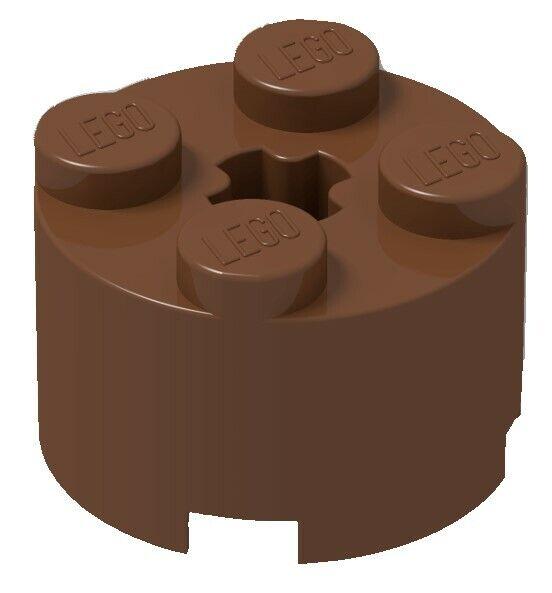 4x LEGO 3941 Mattoncino Rotondo 2x2 Grigio chiaro4211526